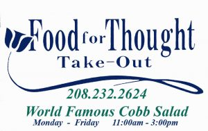 Food For Thought Take Out